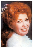 Beverly Sills portrait as Louise